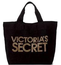Victori9a's Secret Gold Studs & Black Tote Bag - $70.00