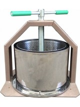 Press For Making Wine Fruit Cider Apple Juice Crusher Grape Stainless Gr... - $233.25