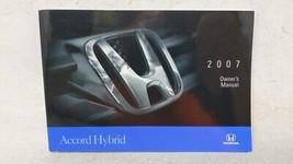 2007 Honda Accord Owners Manual 52494 - $44.64