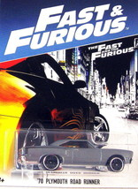 Plymouth Road Runner 1970,FAST And Furious 2006 Metallic Gray Hotwheels 1:64 - $23.41