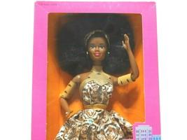 1989 Mattel Dolls of the World Nigerian Barbie #7376 New NRFB - $29.70