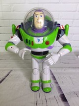 Disney Toy Story Ultimate Buzz Lightyear Talking Mouth Moving Action Fig... - $54.22