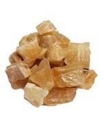 1 lb Banded Yellow Calcite untumbled stones rough specimens BULK - $12.99