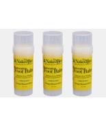 3 ~ The Naked Bee FOOT BALM Natural Restoration Orange Blossom Honey 2 o... - $30.39