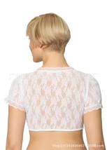Beer Festival Women Lace Shirt Bavarian Clothing White Shirt Blouse whit... - $33.23