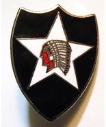 Indio Americano Cabeza Pin de Solapa - EE.UU. Estados Unidos Ejército Se... - $20.68