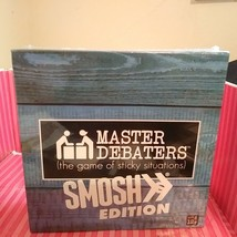 MASTER DEBATERS SMOSH EDITION BRANDABLE BOARD GAME NEW SEALED - $18.69