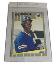1989 Fleer Ken Griffey Seattle Mariners #548 Baseball Card - $9.99