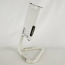 Ikea Harte LED Adjustable Work Desk Lamp White Silver - $27.06