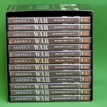 2008 13-DVD Set (1 Of 14 Missing), History Channel America At War Mega Set - $10.95