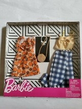 New Barbie Fruit Gingham 2 Outfit Fashion Pack w/ Accessories (USA SHIPS... - $15.80