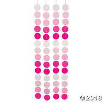 Pink & White Polka Dots Hanging Decoration - $7.49
