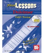 First Lessons Dulcimer/DAD Tuning/Book/CD Set/Mountain Dulcimer/New - $8.99
