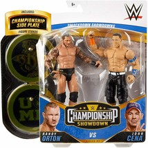 WWE Championship Showdown 2-Pack Randy Orton & Cena Action Figure 2pk Ba... - $19.95