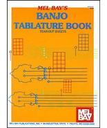 Banjo Tablature Book/W/Chord Boxes by Mel Bay - $5.99