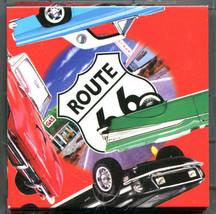 B Dazzle Classic Cars Scramble Squares Brain Twister Puzzle Route 66 - $14.84