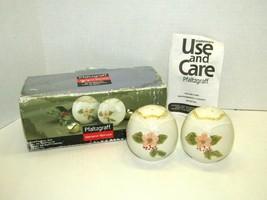 Pfaltzgraff Garland Spruce Seasonal Holiday Salt & Pepper Shaker Set 2006  - $20.79