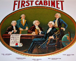 First cabinet cigar label 002 thumb155 crop