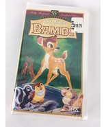 New Sealed Bambi Disney VHS Tape Masterpiece 55th Anniversary Limited Ed... - $9.41