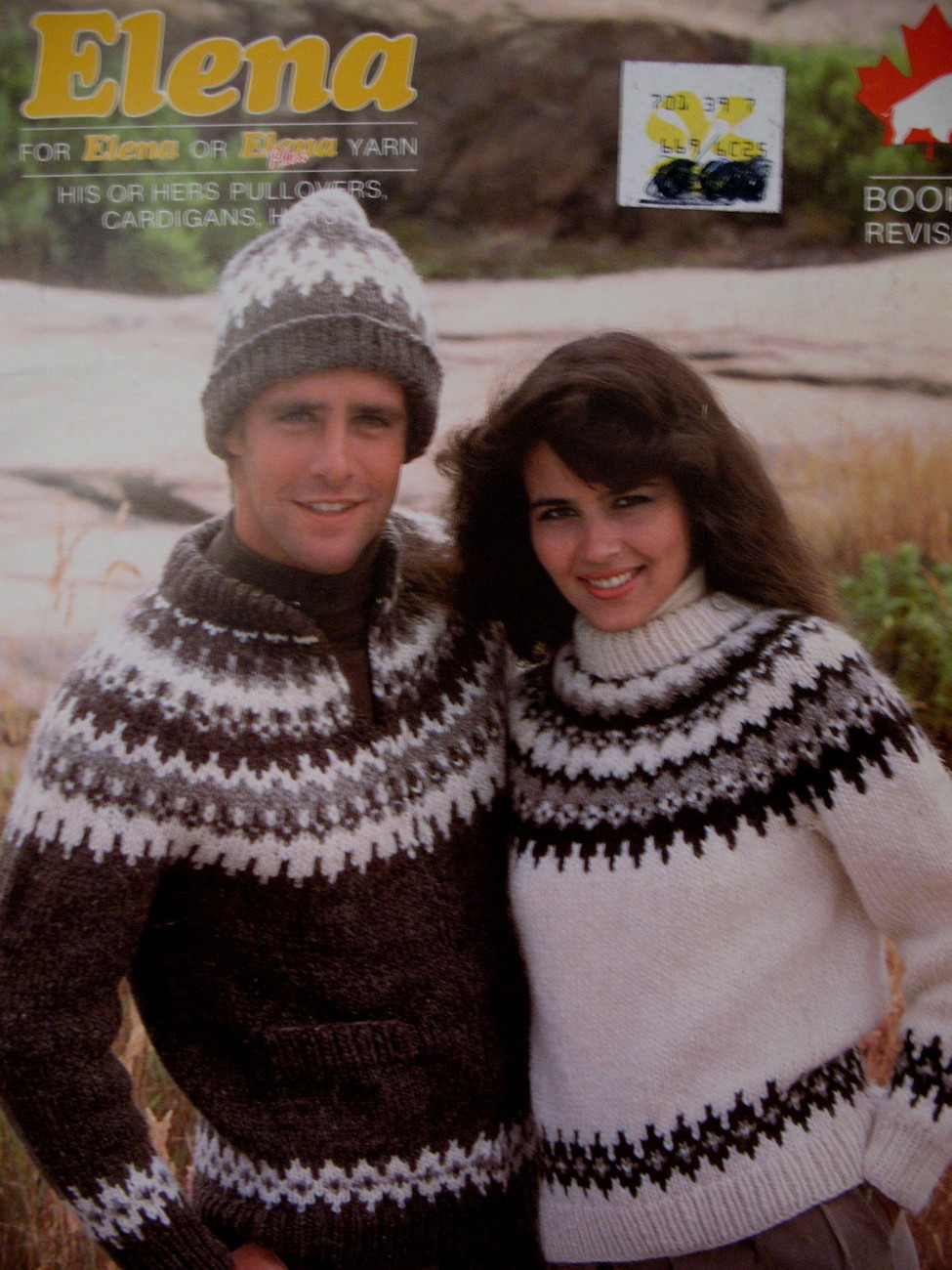 Elena Pullovers Cardigan Sweaters Hats Knitting Pattern