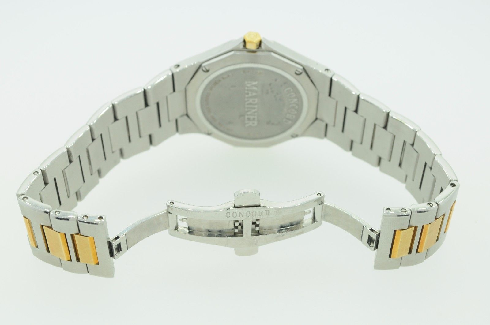 CONCORD Stainless Steel and 18K Yellow Gold Mariner Watch 0311549