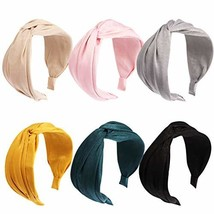 Jaciya 6 Pieces Knotted Headbands for Women Turban Headbands for Women W... - $16.04