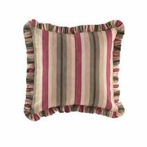 NIP Waverly European Euro Pillow Sham Laurel Springs Parchment Red Green... - $25.86