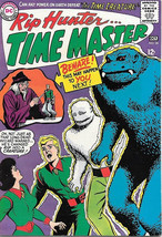 Rip Hunter..Time Master Comic Book #28, DC Comics 1964 FINE+/VERY FINE- - $30.40