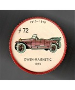 1919 OWEN-MAGNETIC Jell-O Picture Wheel #72 - $5.00
