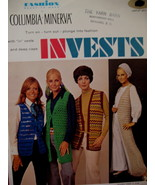 Vintage Vest Tam Cap Mini Skirt Crochet Pattern Adults - $6.99