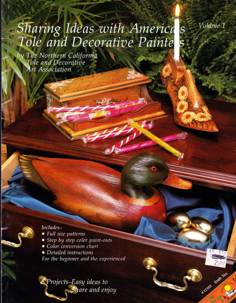TOLE & DECORATIVE PAINTERS SHARING IDEAS WITH AMERICA'S PAIN