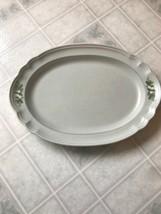 Pfaltzgraff Heirloom Christmas Platter Marked Old Castle 016 Oval 14 3/4... - $44.52