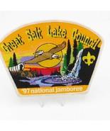 Boy Scout Great Salt Lake Council  '97 national jamboree Shoulder Patch ... - $14.27