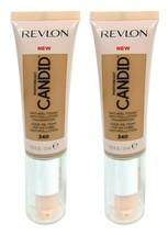 Lot of 2, Revlon PhotoReady Candid Anti-Pollution Foundation 340 True Beige - $9.49