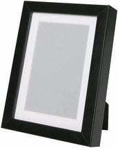 """Set of 2 Ikea Ribba Black Dual Use 8 1/2"""" X 11"""" Picture frame 101.663.68 - $19.99"""