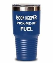 Funny Book-Keeper Tumbler Pick-Me-Up Fuel Insulated Double Wall Travel Thermos A - $32.57