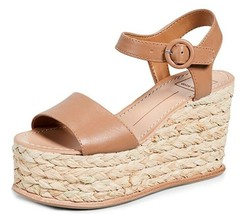 Dolce Vita Women's Dane Wedge Sandal size 10 caramel leather - $36.47