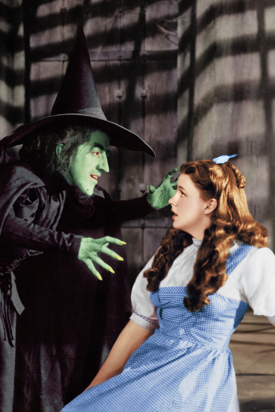 The Wizard Of Oz Wicked Witch Judy Garland 18x24 Poster - $23.99