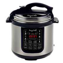 Megachef 8 Quart Digital Pressure Cooker with 13 Pre-set Multi Function ... - £73.31 GBP