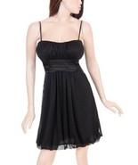 Cruise Party Formal Prom Sparkle Black Jr Dress 2 XL - $29.99