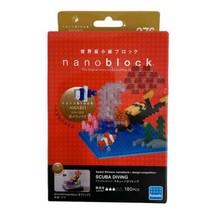 NANOBLOCK SCUBA DIVING 180 Pieces Building Block NBC-276 NIB DAMAGED BOX - $19.79