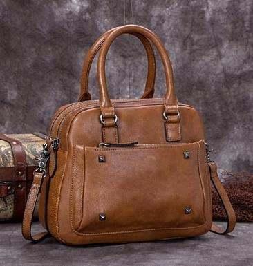 Sale, Genuine Leather Messenger Bag, Shoulder Bag, Satchel Bag image 6