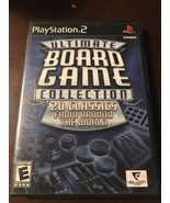 Ultimate Board Game Collection Ps2 Complete Sony PlayStation 2, 2006 Cle... - $2.96