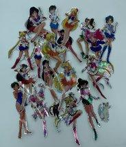 Lot of 20 Sailor Moon - Large Holographic, Iridescent, Sticker, Prism, Prismatic - $95.00