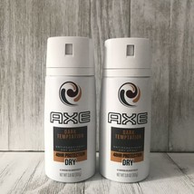 2x AXE Antiperspirant Dry Spray 48 HR Protection Dark Temptation Scent - $22.27