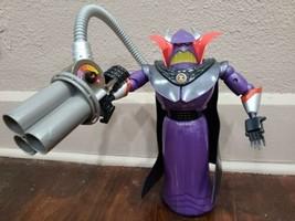 "Disney Pixar Toy Story Emperor Zurg with Blaster 14"" Talking Action Figure - $24.18"