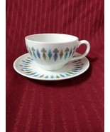 Tea or Coffee Flat Cup & Saucer SYRACUSE China NORDIC Carefree True Mid Cen Mod  - $18.69