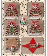 Christmas  Mouse In A House cross stitch chart Just Nan - $25.00
