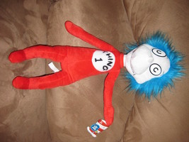 "2003 DR. SEUSS THING 1 Cat in the Hat Brand New Licensed Plush 19"" VHTF ... - $24.99"