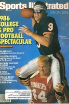 Sports Illustrated Magazine, 1986, Special Issue, Pro & College Football... - $3.25